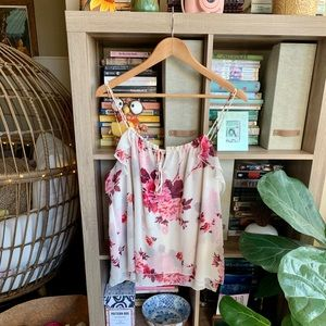 Express Floral Tie Camisole